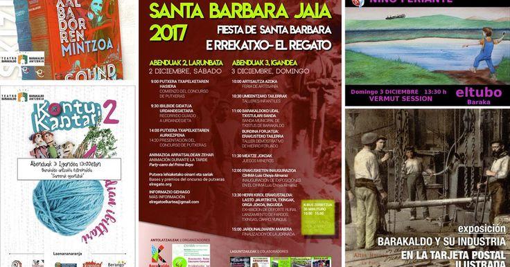 Agenda | Rock + día grande de la Fiesta de Santa Bárbara en El Regato + euskera en el teatro
