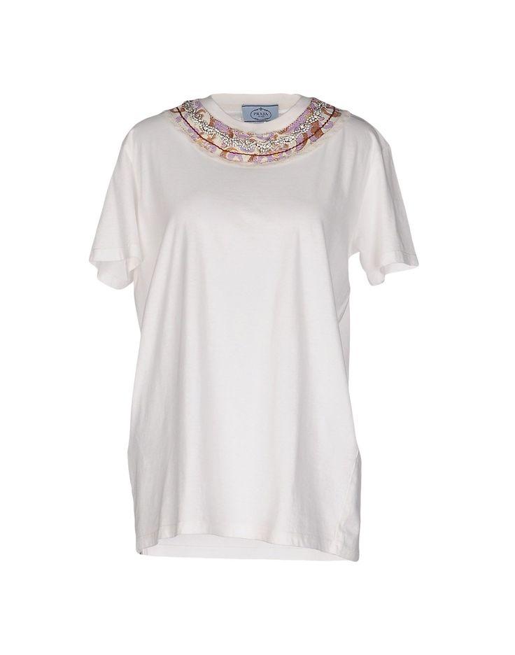 Prada Tシャツ / レディース | YOOX - 37883419GL