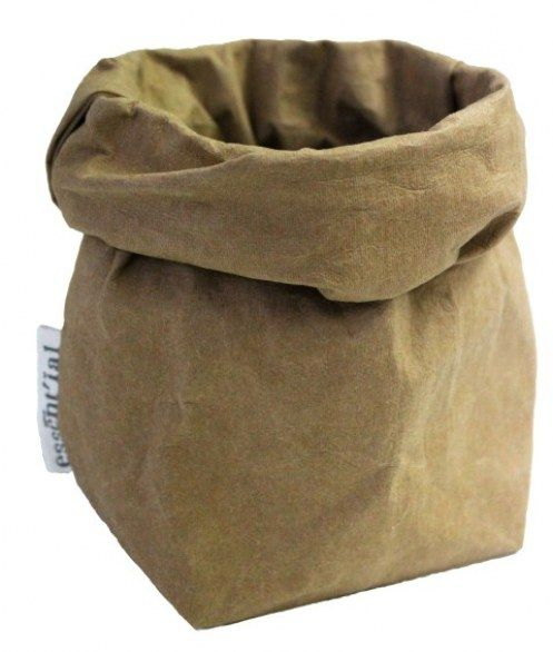 Saco il sachino en eco-celulosa lavable de essent'ial, en    @2150idees.