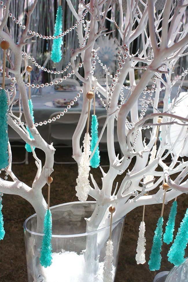 Candy Pop Tree For Frozen Party