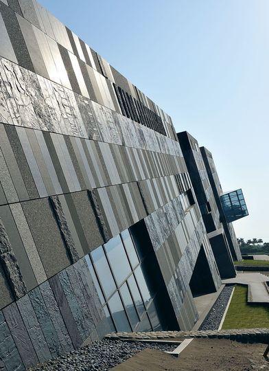 Un patchwork de granits - Architecture tectonique à Taïwan - CôtéMaison.fr