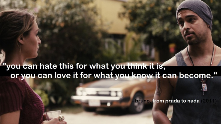 """""""YOU CAN HATE THIS FOR WHAT YOU THINK IT IS, OR YOU CAN LOVE IT FOR WHAT YOU KNOW IT CAN BECOME."""" 