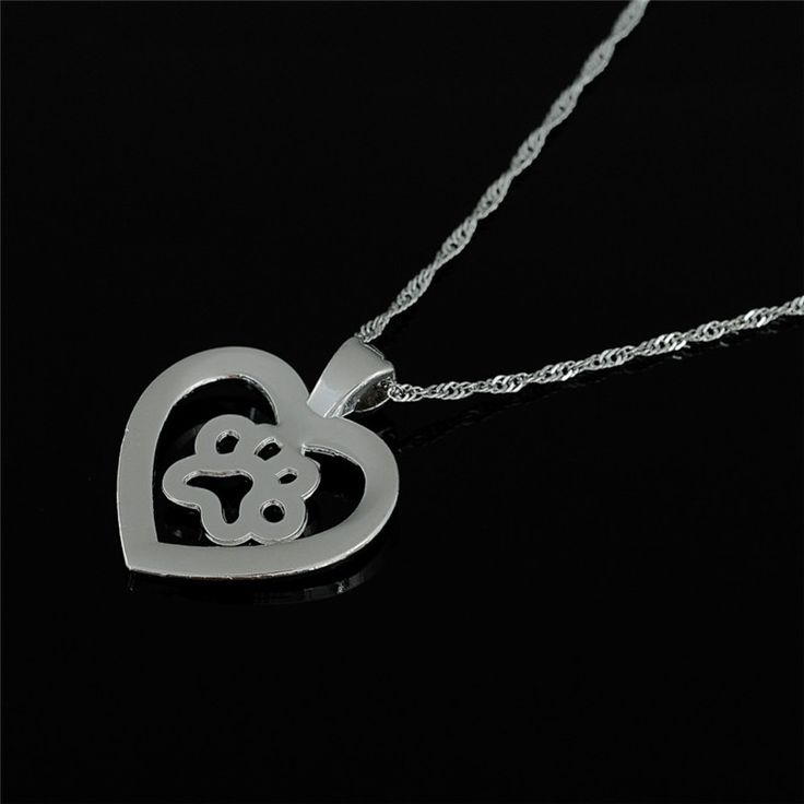 Dog Cat Necklace Paw Print Animal Crystals Heart Water - Wave Chain Collier New Necklace Women Jewelry Gifts //Price: $11.99 & FREE Shipping //     #accessories #necklaces #pendants #earrings #rings #bracelets    FREE Shipping Worldwide     Buy one here---> https://www.myladyempire.com/dog-cat-necklace-paw-print-animal-crystals-heart-water-wave-chain-collier-new-necklace-women-jewelry-gifts/