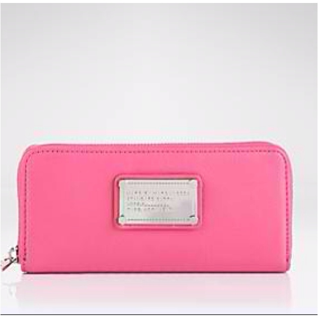 Pink Marc Jacobs Wallet