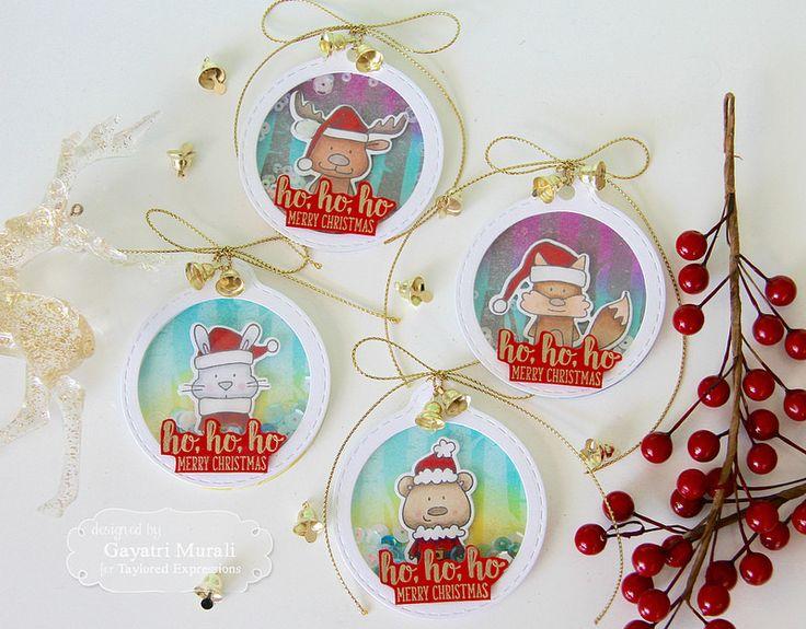Christmas Shaker Tags!