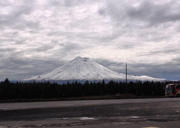 Vista del volcán Cotopaxi desde El Boliche. Foto: Armando Prado / EL COMERCIO