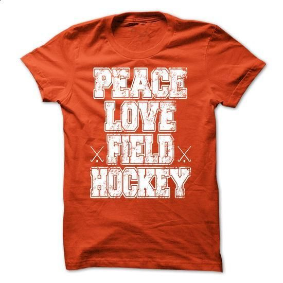Peace love field Hockey - #pullover #navy sweatshirt. SIMILAR ITEMS => https://www.sunfrog.com/Music/Peace-love-field-Hockey-69113353-Guys.html?60505