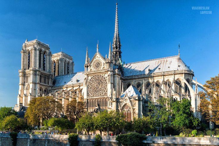 Собор Парижской Богоматери.Франция.