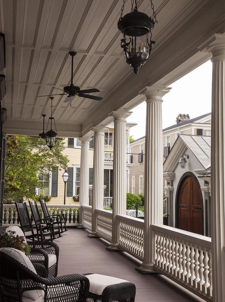 Charleston Piazza, these porches are wonderful and always a nice width not to narrow, love these homes & their porches