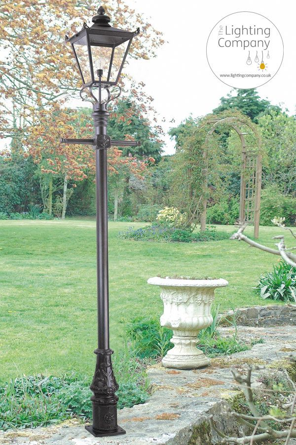 Wilmslow Traditional Outdoor Lamp Post In Black Finish In 2020 Outdoor Lamp Posts Lamp Post Lamp