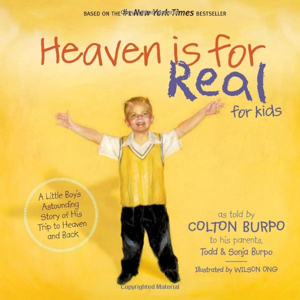 Heaven is for Real for kids - amazing story & beautiful pictures: Worth Reading, Reading Levels, Books Worth, Great Books, Good Books, True Stories, Little Boys, Books For Kids, Books Review