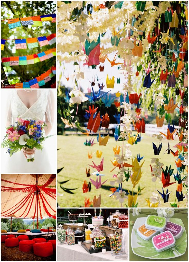 Origami wedding decorations - The Daily Design by Koyal Wholesale