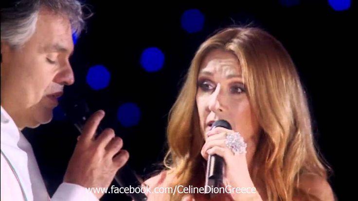 Celine Dion & Andrea Bocelli - The Prayer Live @ Central Park NY, 2011 [HD]