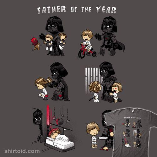 Father of the Year #StarWars #DarthVader