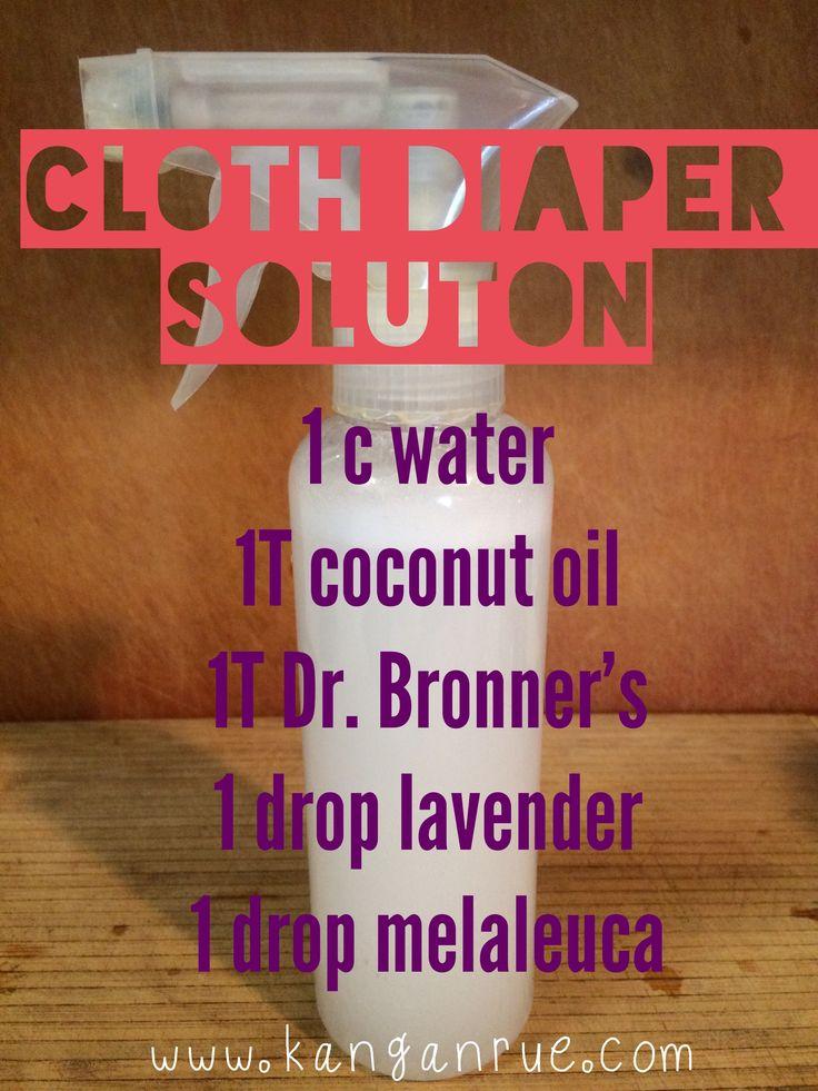 How to make DIY cloth wipes & wipe spray www.kanganrue.com