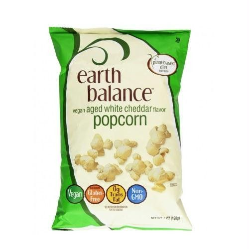 Earth Balance Vegan Aged White Cheddar Popcorn (12x7 Oz)