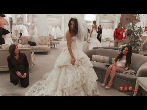 Somehow, I will make this my dress- High-End Lace Ball Gown | Say Yes to the Dress