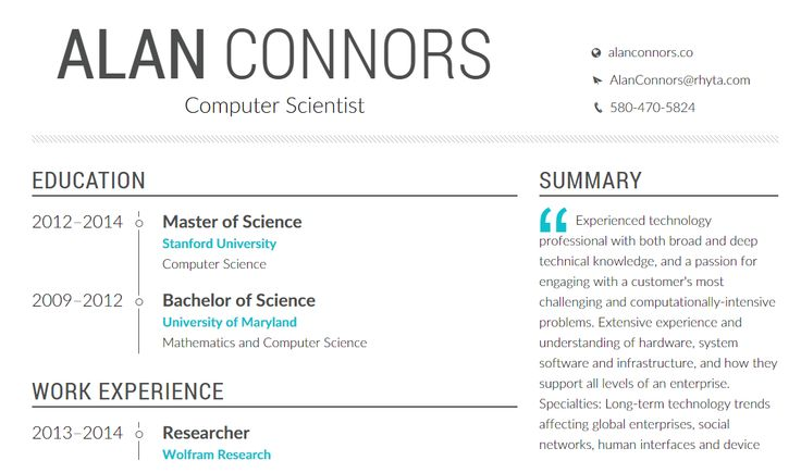 Professionis is a beautiful resume generator that will let you - resume generator
