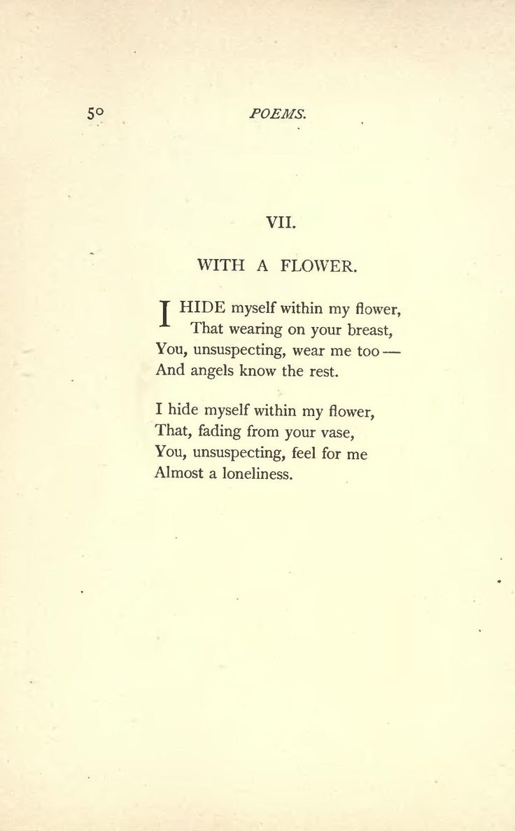 An analysis of emily dickinsons famous poems