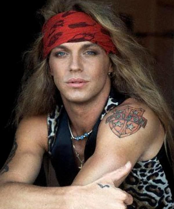 Image detail for -Bret Michaels showing his poison tattoo and the tattoo on his hand ...
