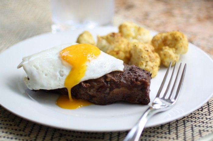 Coffee Marinated Flat Iron Steaks (paleo/primal)