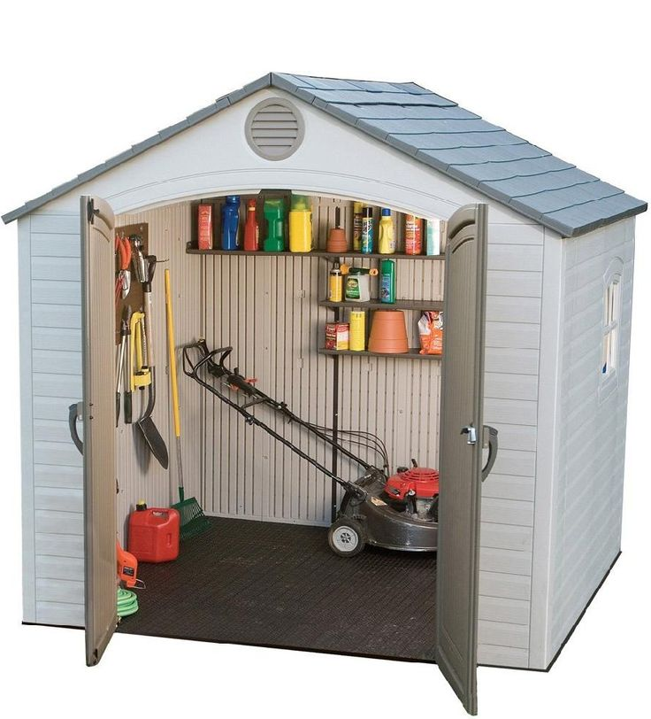 10 best easy diy storage shed ideas images on pinterest for Outdoor storage ideas cheap