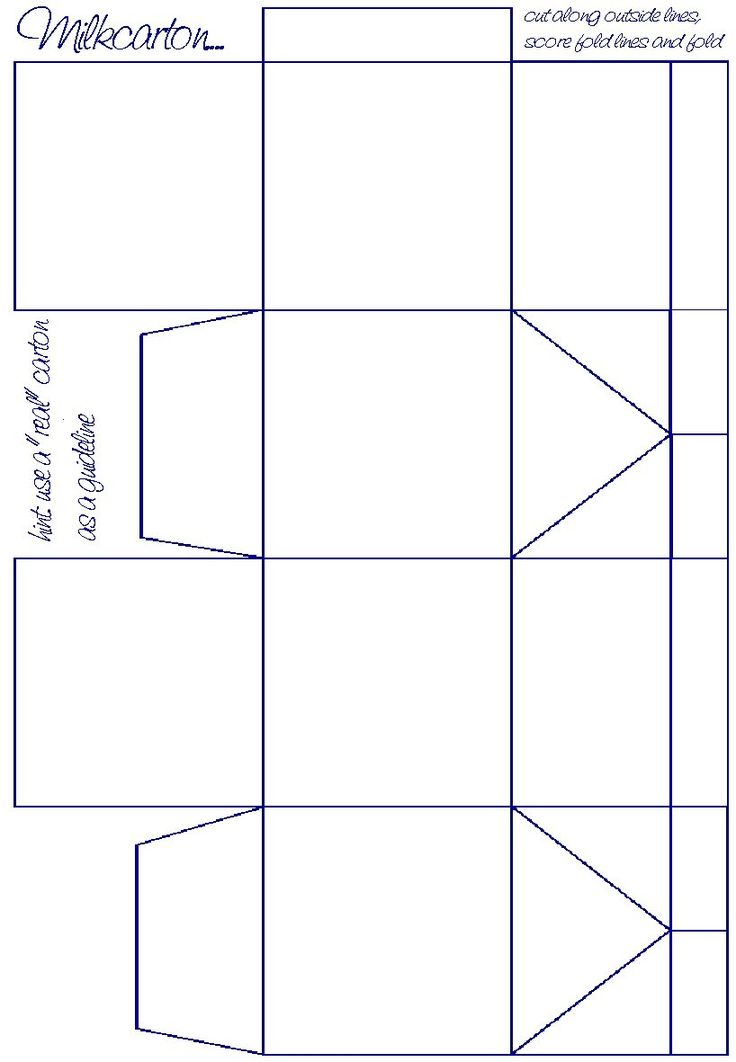 printable box template