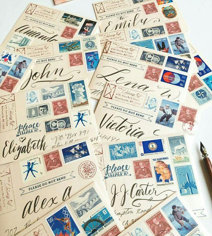 Какие марки клеить на почтовую открытку, текстом