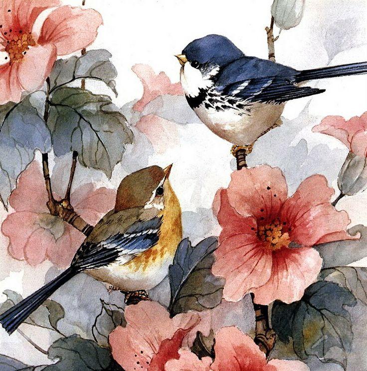 увидели, акварель птицы цветы картинки чем различаются псориаз