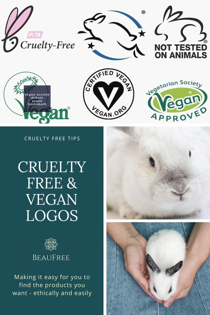 Essential guide to cruelty free vegan logos in 2021