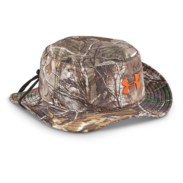Under Armour Men's Camo Bucket Hat, One Size Fits Most, Mossy Oak Break Up Country/MossyTaupe