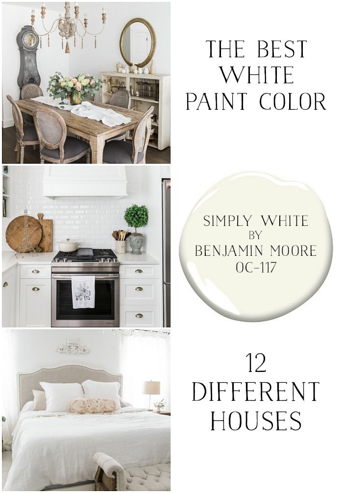 The Best White Paint Color Simply By Benjamin Moore So Much Better With Age This Colour Is Hands Down My Favourite Neutral To