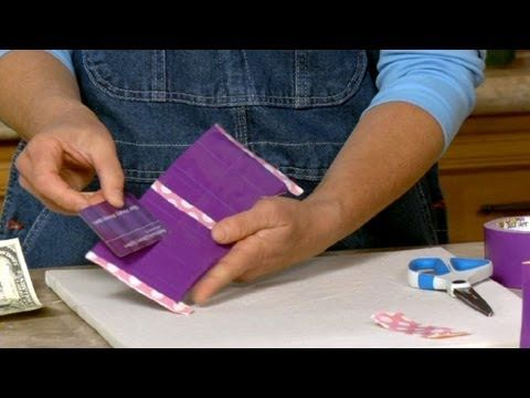 how to make a duct tape wallet sophie& 39