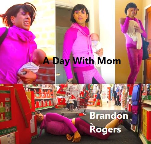 Brandon Rogers A Day With Mom. I'm a mom making a difference.