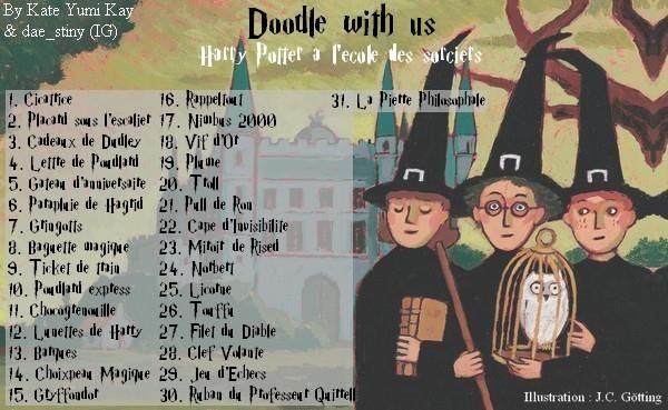 #doodlewithus #HarryPotterchallenge #HarryPotter #doodle