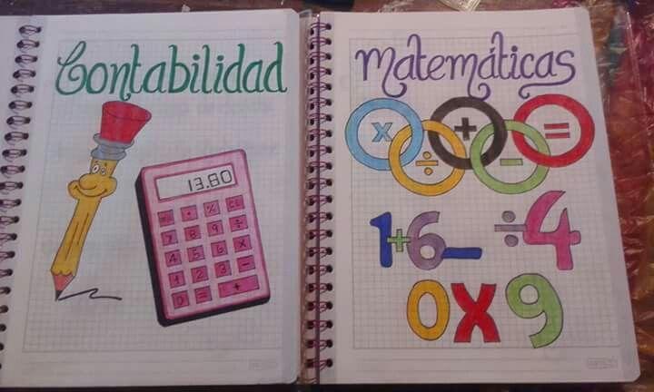 Carátula cuaderno