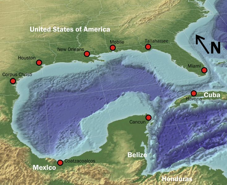 23 best Gulf of Mexico Maps images on Pinterest Maps Cards and