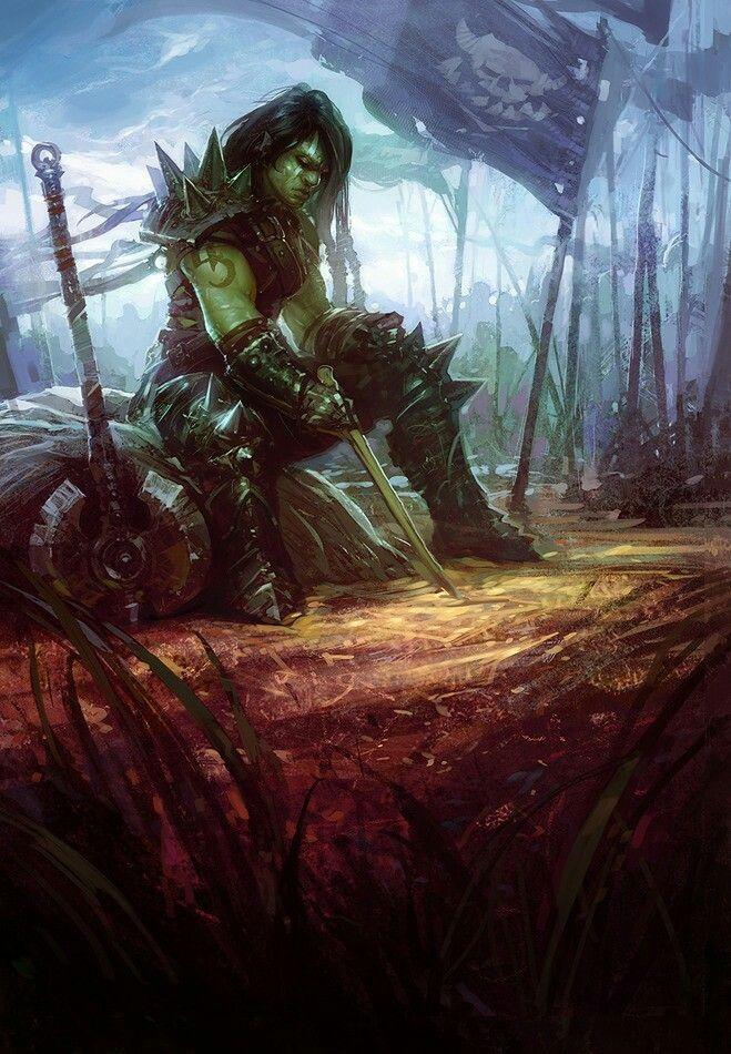 Rahonu, Orc Warrior of the Lutaum Gijak Clan