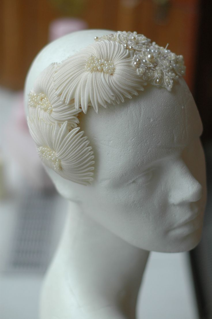 Br bridal headpieces montreal - Couture Headpiece By Www Parantparant Se