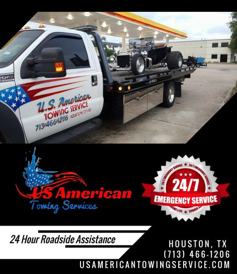 Are you facing with a situation that's left you needing emergency towing services? Call us today for all of your towing needs! (713) 466-1206 Visit our website to know more about our services. usamericantowingservice.com #USAmericanTowingService #24HoursTowing #WreckerService #TowingService #24HourTowTruck #RoadsideService #Towing #24HoursRoadsideAssistance #TowTruckService #FastTowTruckService #JumpStart #TowingRecovery #FlatbedTowing