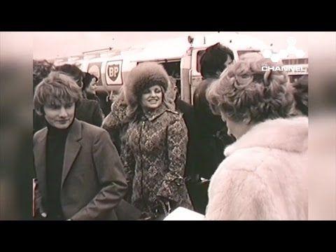 Crossroads cast visit Jersey - 1971
