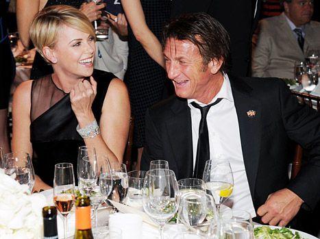 Charlize Theron and Sean Penn at Help Haiti Home Gala on Jan. 11, 2014