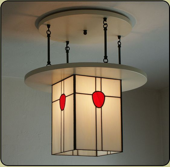 Mackintosh Style Lighting Fixture > Ceiling Light