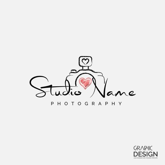Photography Logo Business Card Design Premade Logo Studio Etsy Business Card Logo Design Wedding Photography Logo Design Photography Logo Design
