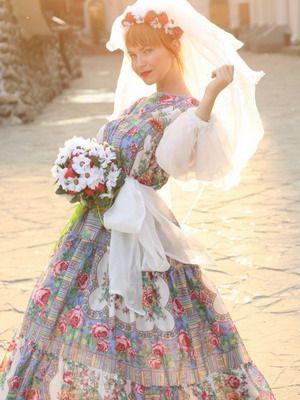 Стили свадебных платьев: фото моделей в русском, украинском, народном и других стилях