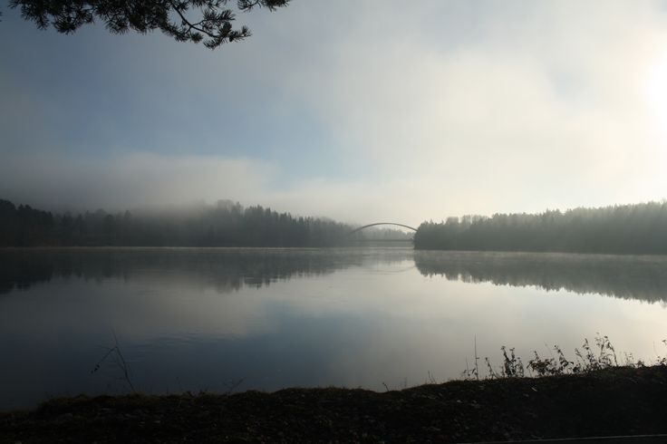 Bridge over Ångermanälven by Ed