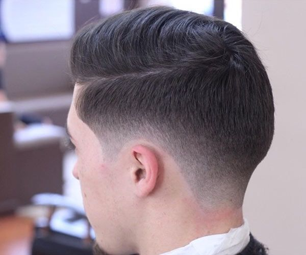 5 Ways to Wear the Taper Fade | Men Hairstyle Trends (Grow the top half of the cowlick and taper the bottom half to blend away. The longer the top half of the cowlick is, the more obedience it will give you. Eliminates frustration x infinity)