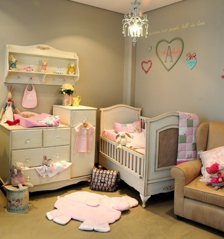 Glam Baby South Africa - Vintage French Inspiration for a little girls room.