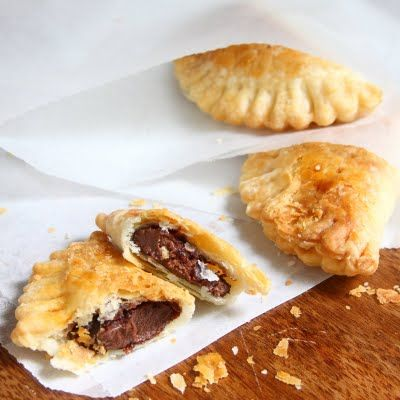 Nutella Hand Pies - Flaky, Chocolate Mini Pies