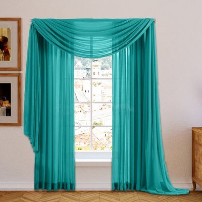 Basics Solid Blackout Grommet Single Curtain Panel